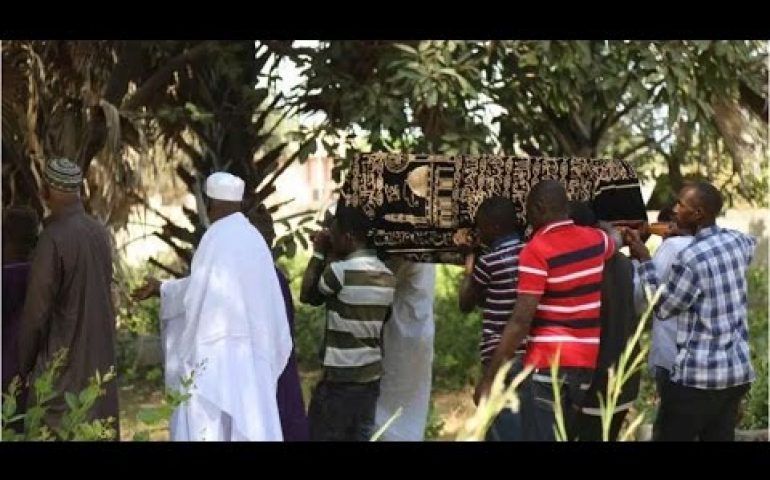 Gambia president-elect's son killed by dog buried