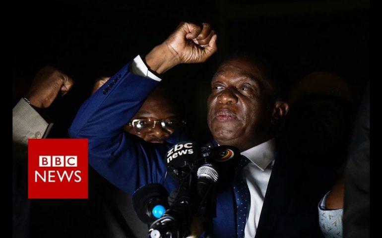 Zimbabwe's Mnangagwa: I was going to be eliminated – BBC News