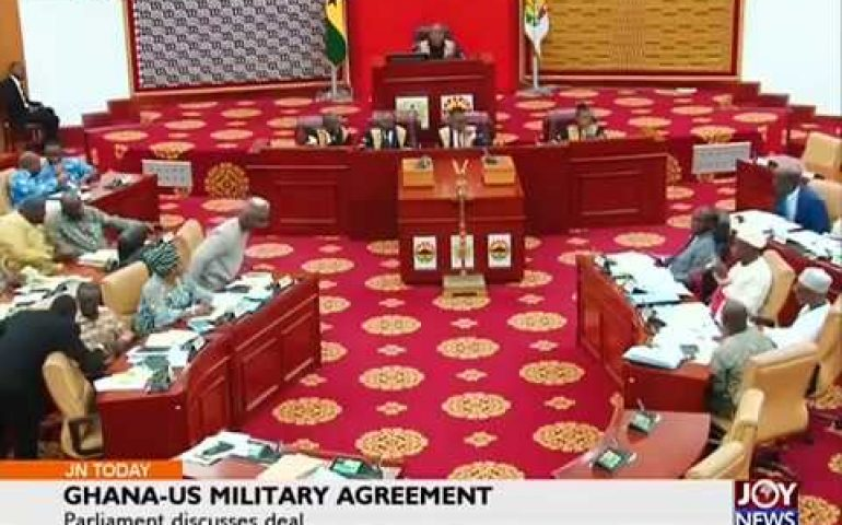 Ghana-US Military Agreement – Joy News Today (23-3-18)