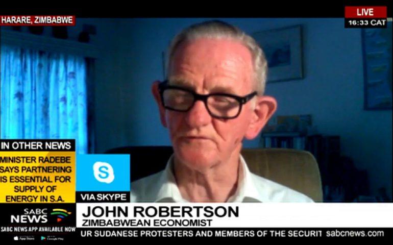 Reaction to Zim's power cuts: John Robertson