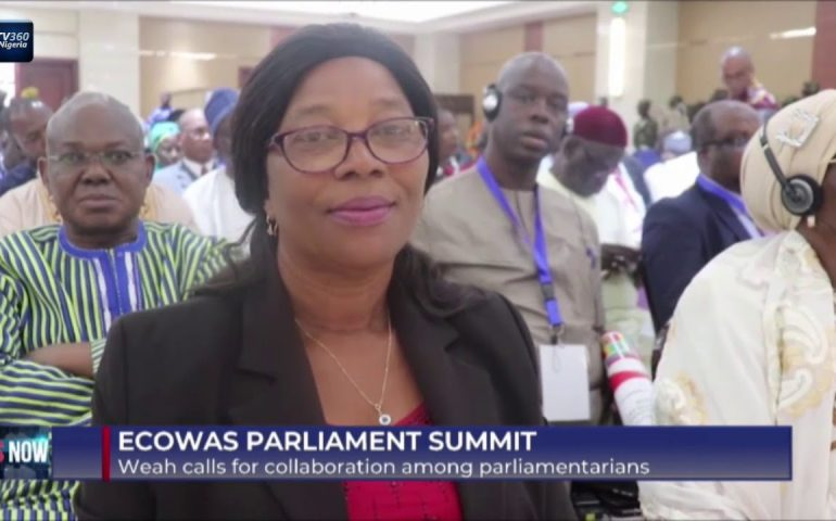 ECOWAS Parliament Summit: Weah calls for collaboration among parliamentarians