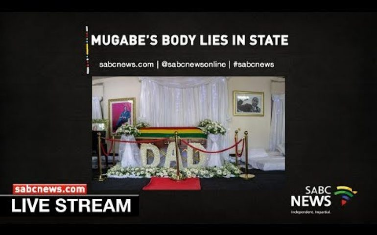 Zimbabweans pay respects to former president  Robert Mugabe: 13/09/19