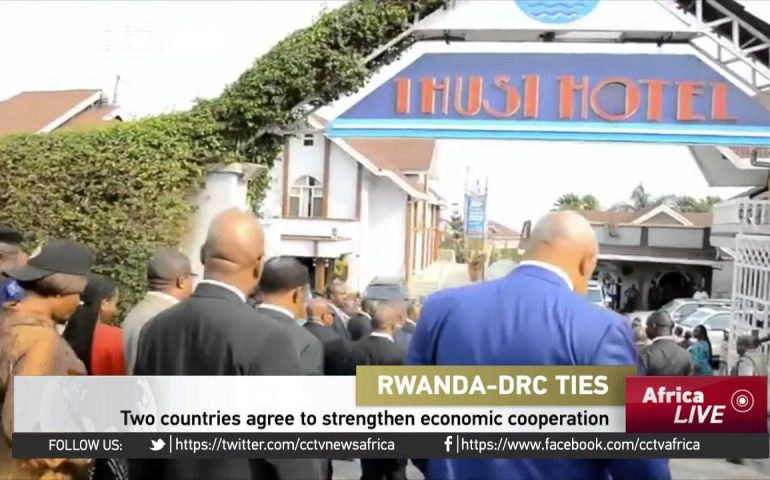 Rwanda – DRC agree to strengthen economic cooperation