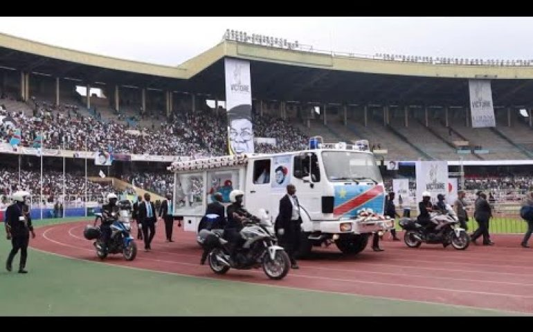 Thousands pay tribute to  Etienne Tshisekedi in DR Congo