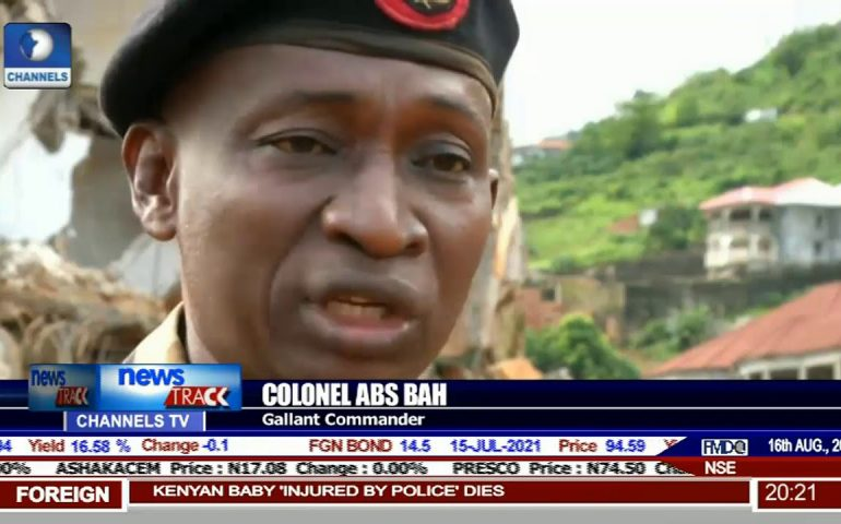 Sierra Leone Mudslide: Recuers Still Searching For 600 Missing People