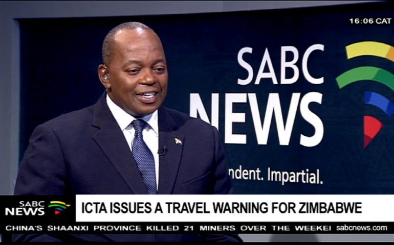 ICTA issues a travel warning for Zimbabwe