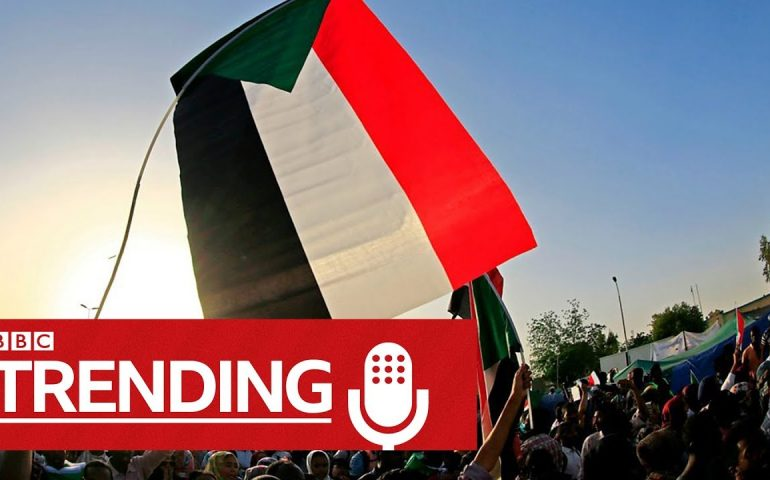 Podcast: Fake news and false confessions in Sudan protests | BBC Trending