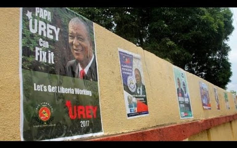 Election campaigns intensify ahead of Liberia's first democratic polls