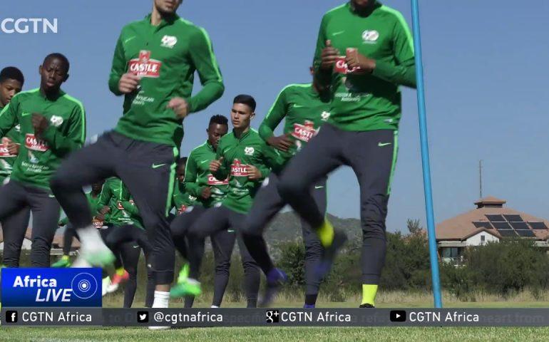 South Africa name Bafana squad for Burkina Faso tie