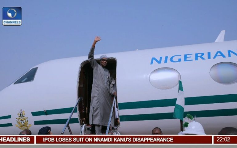 Buhari Arrives Ethiopia For Heads Of States & Govt. Meeting