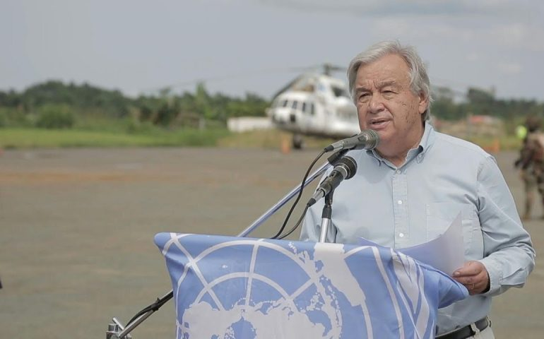 UN chief arrives in Beni, DR Congo | AFP