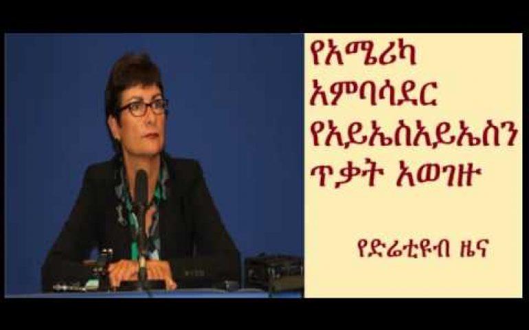 DireTube News – US Ambassador to Ethiopia condemn ISIS brutal killing