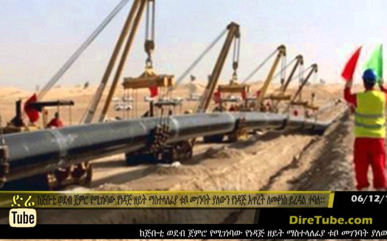 DireTube News Ethiopia receives US$1.4bn petro pipeline project proposal