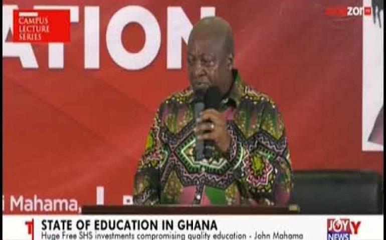 State Of Education In Ghana – News Desk on JoyNews (12-4-19)