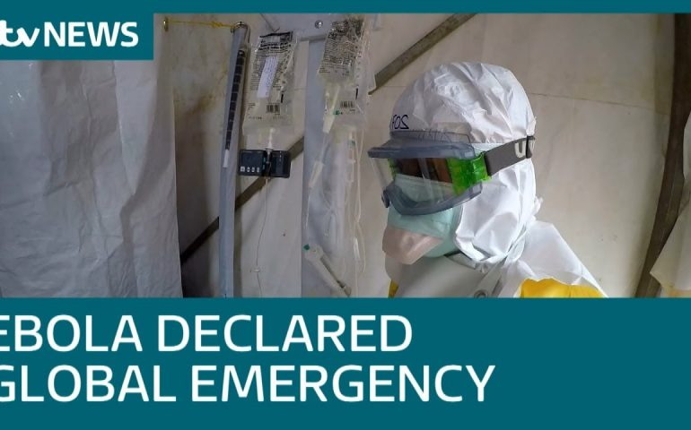 WHO declare Ebola outbreak in DRC an international health emergency | ITV News