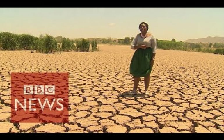 Worst drought in 30 years hits Sout Africa  – BBC News