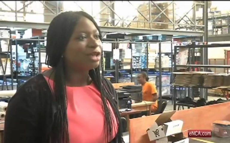 Santa visits Ivory Coast's online shoppers