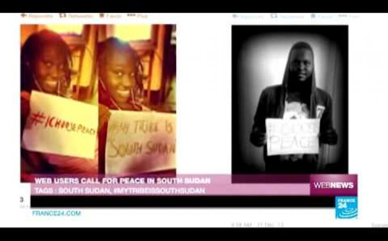 Web users call for peace in South Sudan – Web News