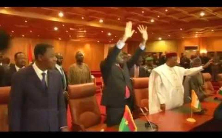 Government restored in Burkina Faso