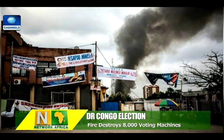 Fire Destroys 8,000 Voting Machines In DR Congo, Days To Election  Network Africa 