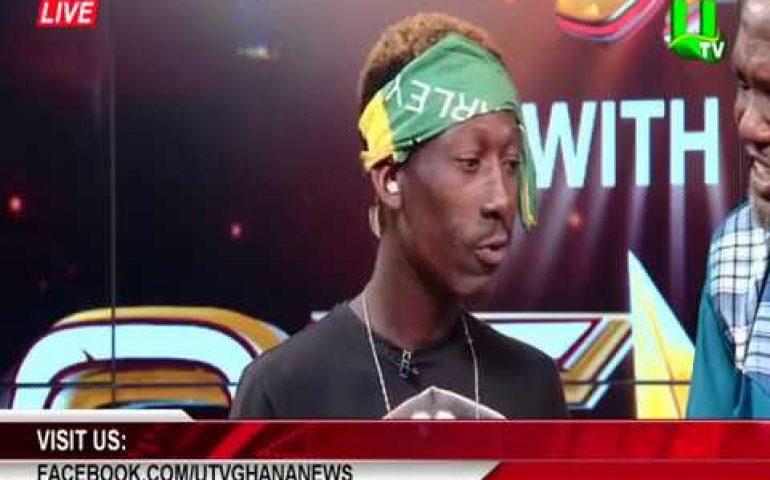 Supa (Ghana 2Pac) reads Sports News on UTV