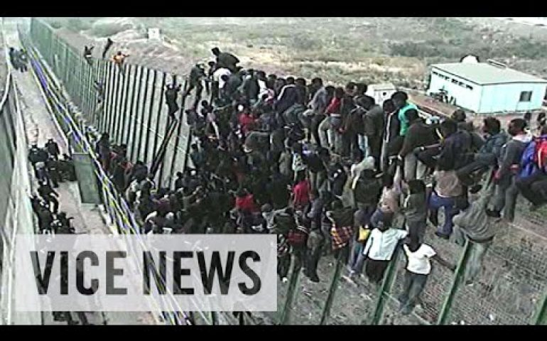 Storming Spain's Razor-Wire Fence: Europe Or Die