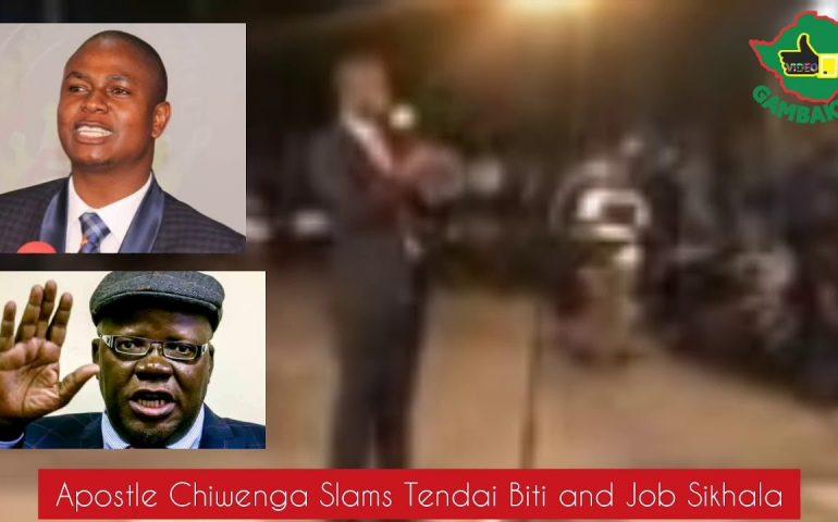SHOCKING! Apostle Chiwenga Says MDC Will Not Bring Change to Zimbabwe