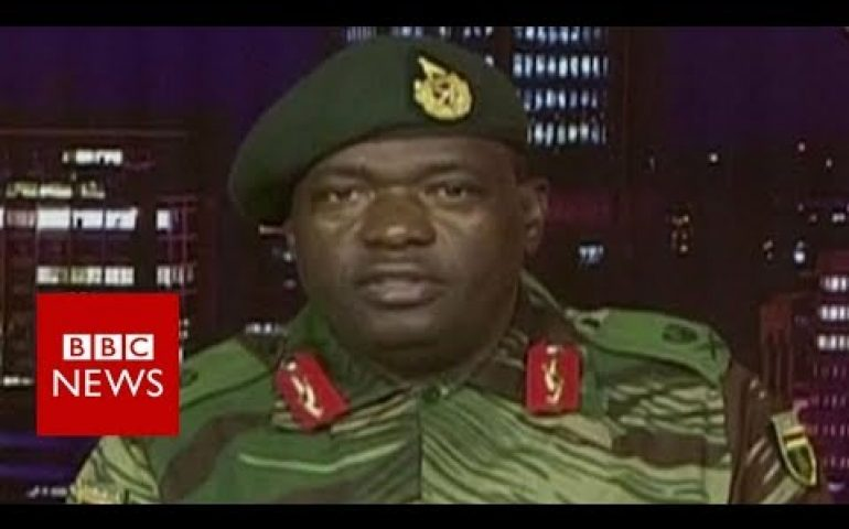 Zimbabwe's military seizes state TV – BBC News