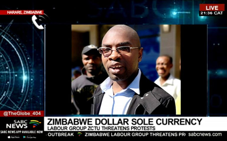 Zimbabwe's ZCTU threatens legal action against ban of foreign currencies