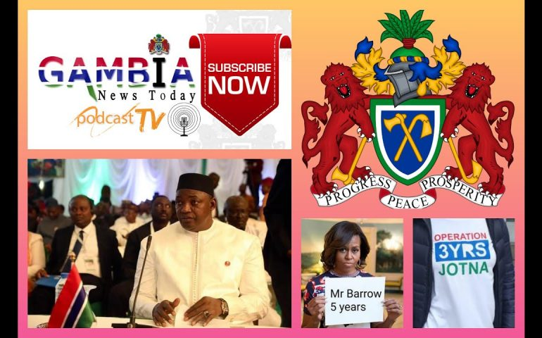 GAMBIA NEWS TODAY 22ND DECEMBER 2019