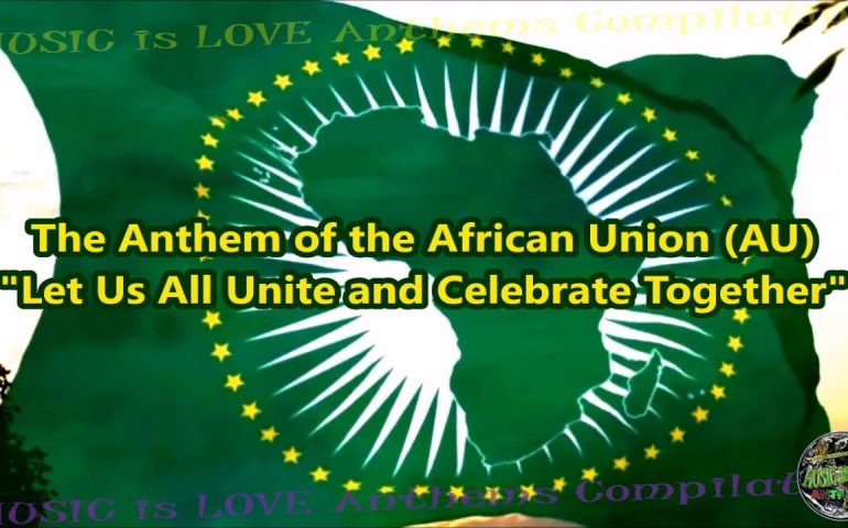 African Union Members Flags & Anthem