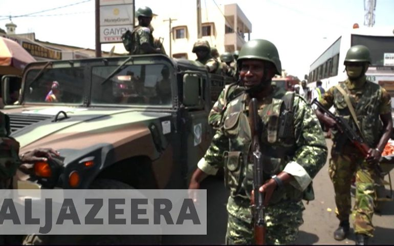 Gambia : West African troops extend mandate