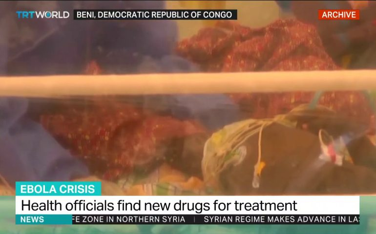 DRC officials discover new drugs for Ebola treatment