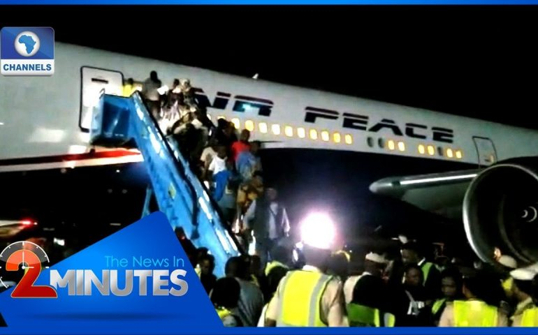 Update: Second Batch Of Nigerians From South Africa Arrive In Lagos