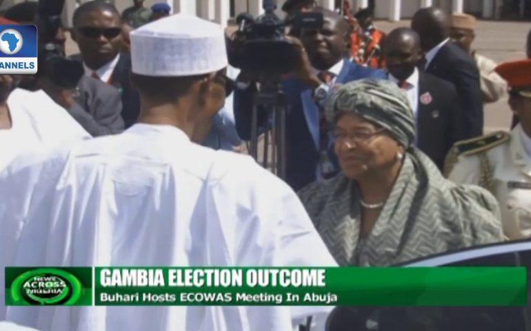 Gambia Election: Buhari Hosts ECOWAS Meeting In Abuja