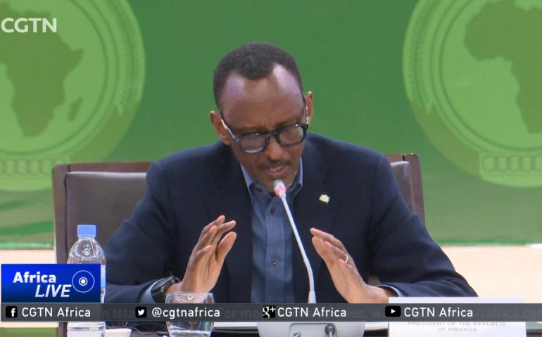 African Union Reform Roadmap: Kagame: It's time Africa breaks free from bonds of poverty
