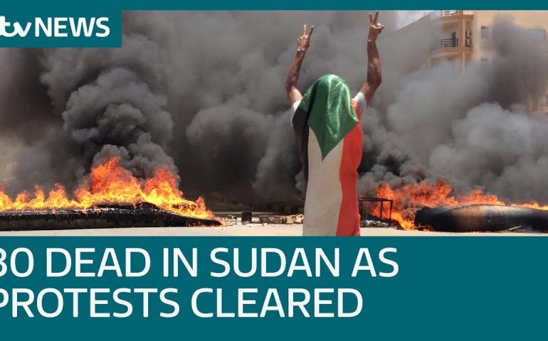 At least 30 die as Sudan troops clear protest camp   ITV News