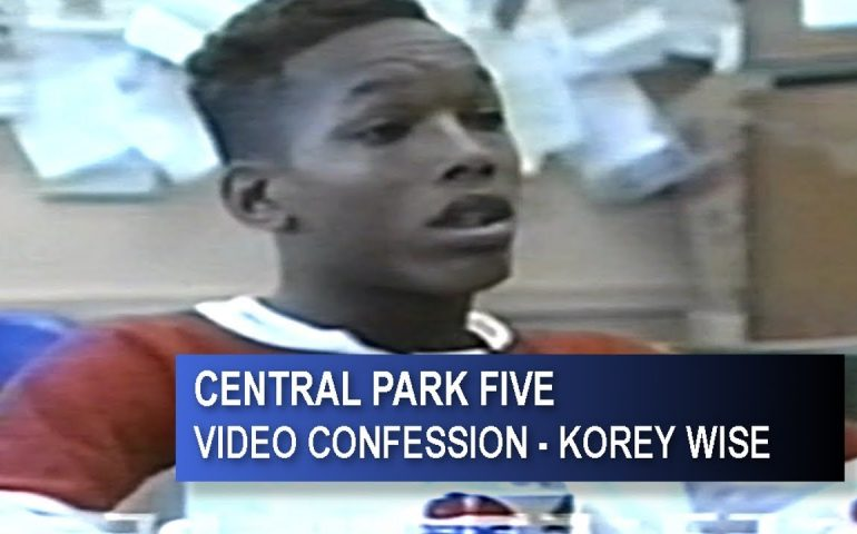 CENTRAL FIVE PARK – KOREY WISE FULL VIDEO CONFESSION