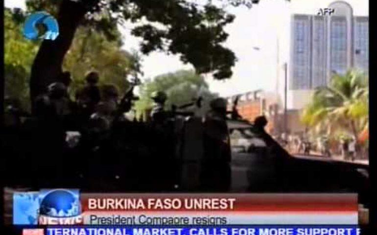 Burkina Faso Unrest: President Compaore resigns