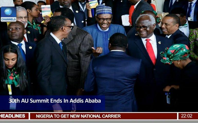 30th AU Summit Ends In Adisa Ababa, Ethiopia Pt.1 |News@10| 29/01/18