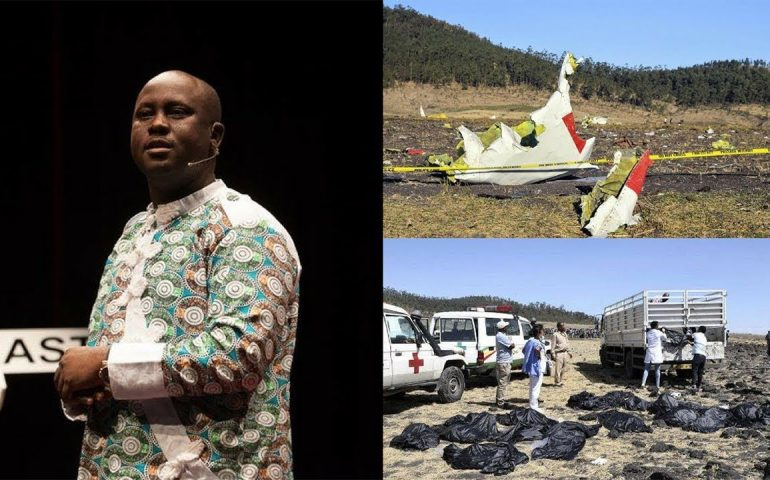Last Moment Ethiopia Air BOEING 737 MAX 8 JET Crash, Tribute To Prof Pius Adesanmi