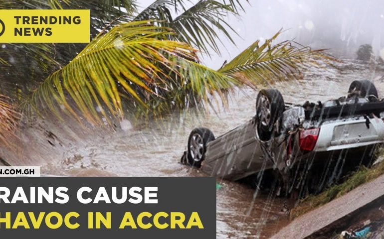 Ghana News Today: 5 confirmed dead / some schools closed down following torrential rains   #Yencomgh