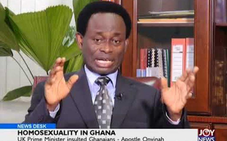 Homosexuality In Ghana – News Desk on JoyNews (23-4-18)
