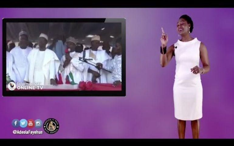 Ex-Kenyan PM Mocks Nigeria; Osinbajo In Helicopter Crash; Senegal-Gambia Bridge; Zambian First Lady