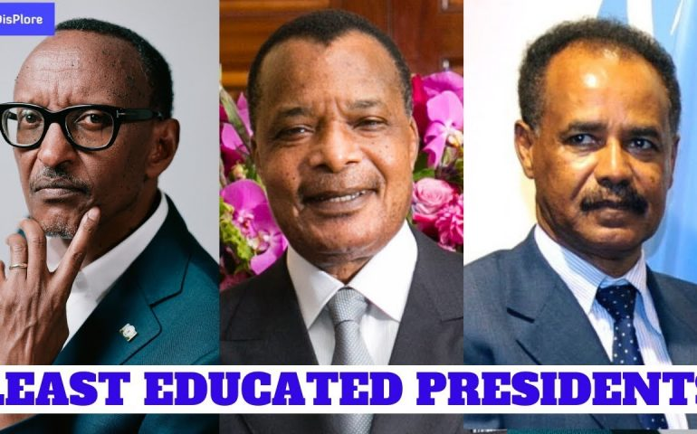 Top 10 Least Educated Presidents in Africa 2019