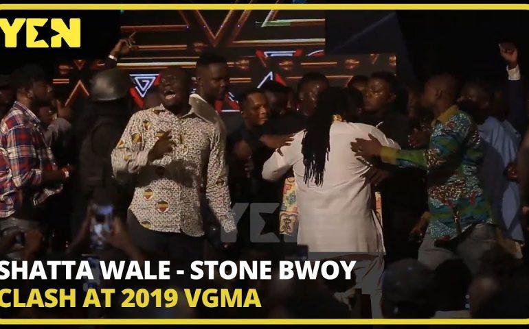 Ghana News Today: Shatta Wale – Stone Bwoy clash at 2019 VGMA| #Yencomgh