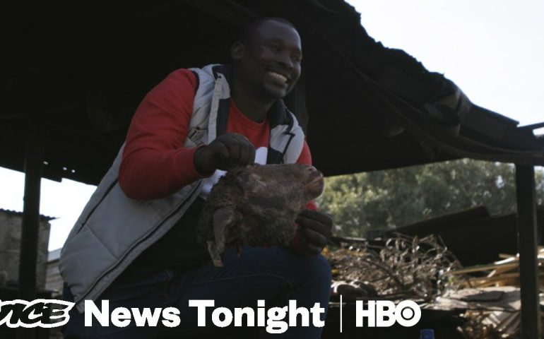 Why White European Tourists Are Visiting South African Slums (HBO)