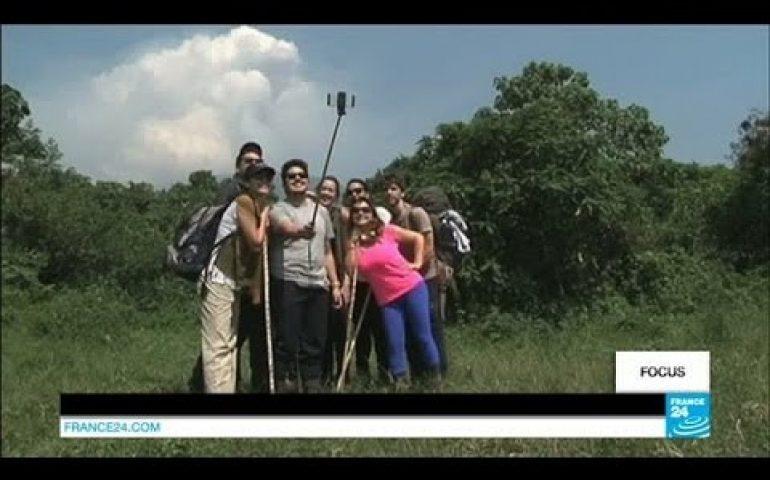 DR Congo: Tourists return to Mount Nyiaragongo volcano