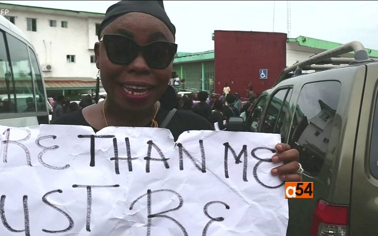 Women's Rights Groups in Liberia stage Protests