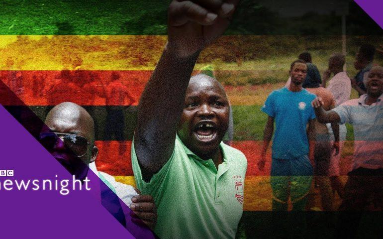 Zimbabwe crackdown: 'Nothing has changed' – BBC Newsnight